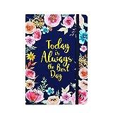 Cuaderno reglamentario/diario – Cuaderno de tapa dura de 14,2 x 21 cm, perfecto para escribir y anotar trabajos de negocios en la escuela Office Home