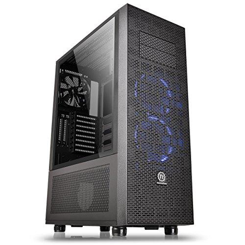 Thermaltake Core X71 TG / Tempered Glass Case ATX per PC, Nero