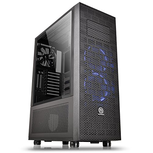 Thermaltake Core X71 TG (Tempered Glass) PC-Gehäuse schwarz