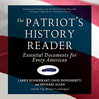 The Patriot's History Reader audiobook cover art