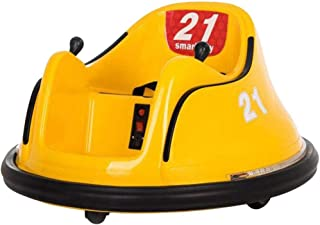 XTY Children's Remote Controlled Electric Drift Bumper Car - Yellow