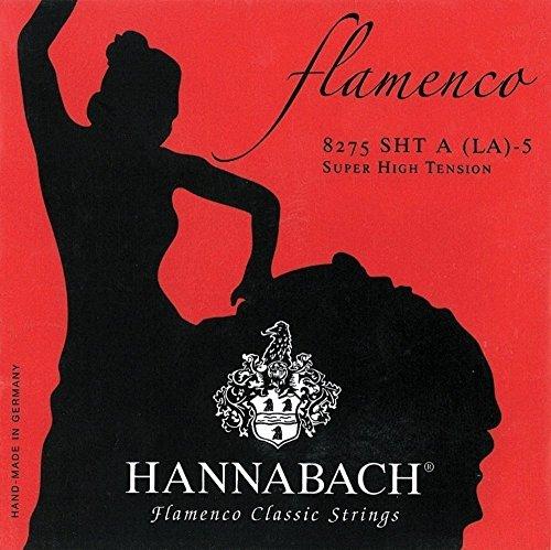 Hannabach Cuerdas Para Guitarra Clasica, Serie 827 Tension Muy Alta Flamenco Classic - Juego 3 Cuerdas Graves Re4+La5+Mi6