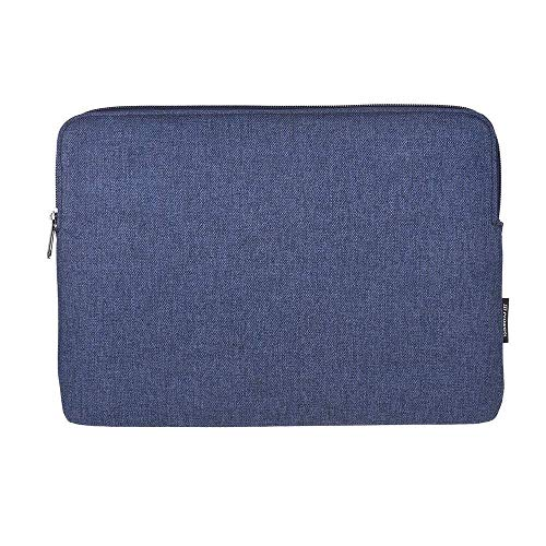 Backpack Prowell NB53184 Tablet Bag 13 inch Tablet Case Cover Zipper Soft Business Handbag Fashion Portable Tablet Pouch Briefcase for iPad Xiaomi Laptop Accessories (Color : Blue)
