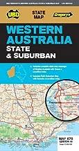 Western Australia State & Suburban Map 670 16th ed