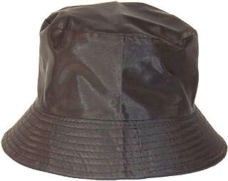 46e16a6b3441f Chapeau-tendance - Bob de Pluie satiné Noir - - Femme