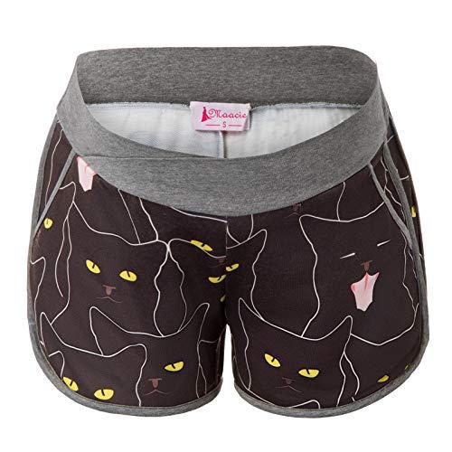 Women's Maternity Shorts Yoga Shorts Athletic Short Pants Pregnancy Shorts