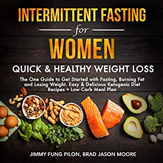 Intermittent Fasting for Women audiobook cover art