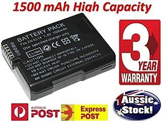 Timetech EN-EL14 1500mAh Backup Battery Nikon Camera D3100 D3200 D5100 P7000