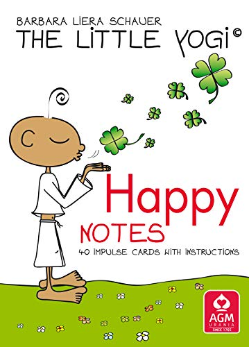 The Little Yogi - Happy Notes GB: 40 impulse cards with instructions