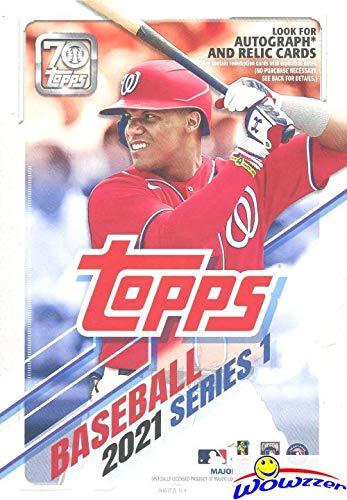 2021 Topps Series 1 MLB Baseball HUGE EXCLUSIVE...