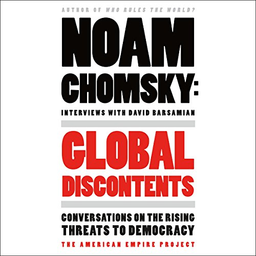 Global Discontents audiobook cover art