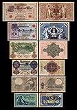 *** 5,10,20,50,100,1000 Reichskassenschein/Banknoten 1904/1908 Pick 8-9-25-26-27-30 - Reproduktion *** -