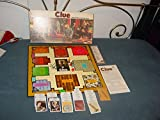 Clue Parker Brothers Detective Game [1972 Edition)
