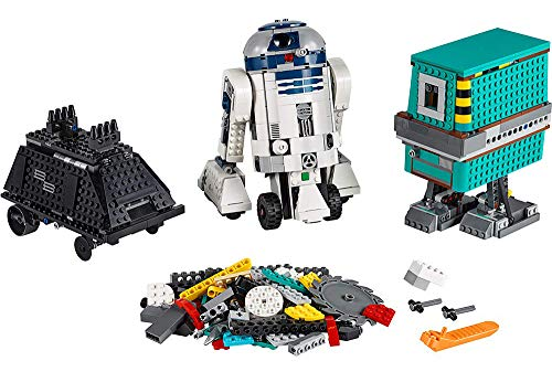 Amazon.com: LEGO Star Wars BOOST Droid Commander 75253 Star Wars Droid Building Set with R2 D2 Robot Toy for Kids to Learn to Code (1,177 Pieces): Toys & Games $149.99
