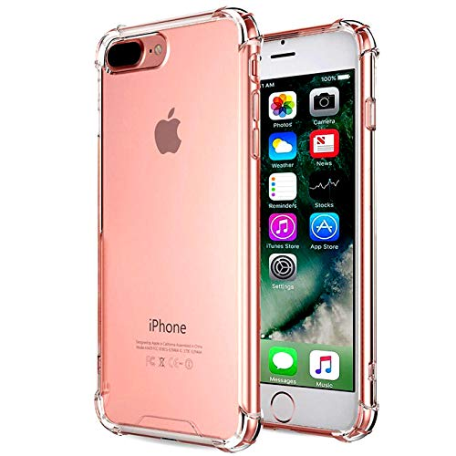 Price comparison product image iBarbe Clear Case Compatible with iPhone 7 / 8 Plus