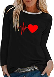 Futurelove Women Loose O Neck Long Sleeve Fall Winter Letter Print Sweatshirt Warm Top Teen Girls Sport Pullover