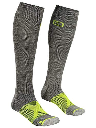 ORTOVOX Tour Compression Chaussettes Homme, Grey Blend, 39/41