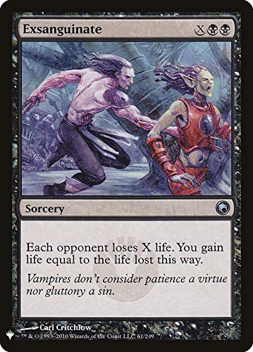 Magic: The Gathering - Exsanguinate - Mystery Booster - Scars of Mirrodin
