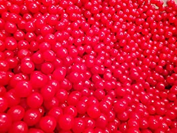 Sunrise Cherry Sours Chewy Candy Balls - 3 lbs of Tart Fresh Delicious Bulk Candy