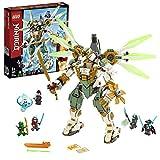 LEGO-NINJAGO Le robot Titan de Lloyd Jeu pour Enfant 9 Ans et Plus, Briques de Construction Garçon et Fille, 876 Pièces 70676