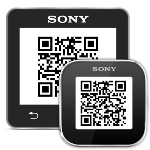 Contact QR Codes for Sony SmartWatch 2