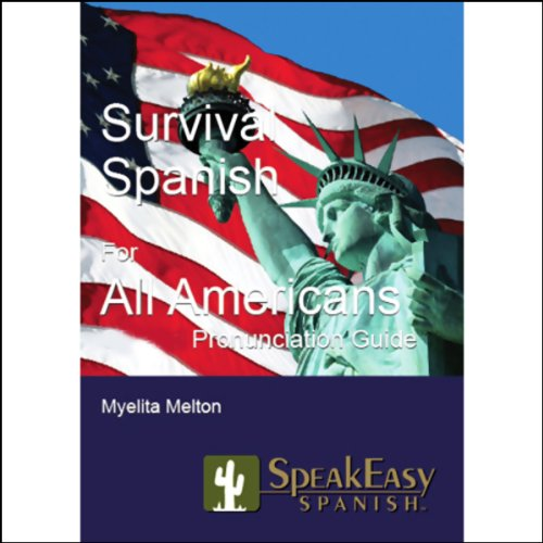 Survival Spanish for All Americans audiobook cover art