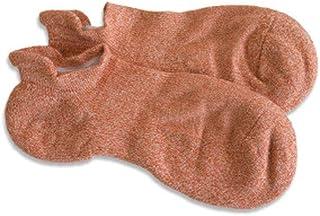 ZCX, ZCX Pareja de algodón Boca de los Pescados de la Boca Toalla Gruesa Inferior Deportes Calcetines del Barco Calcetines Invisibles Calcetines (Color : A)