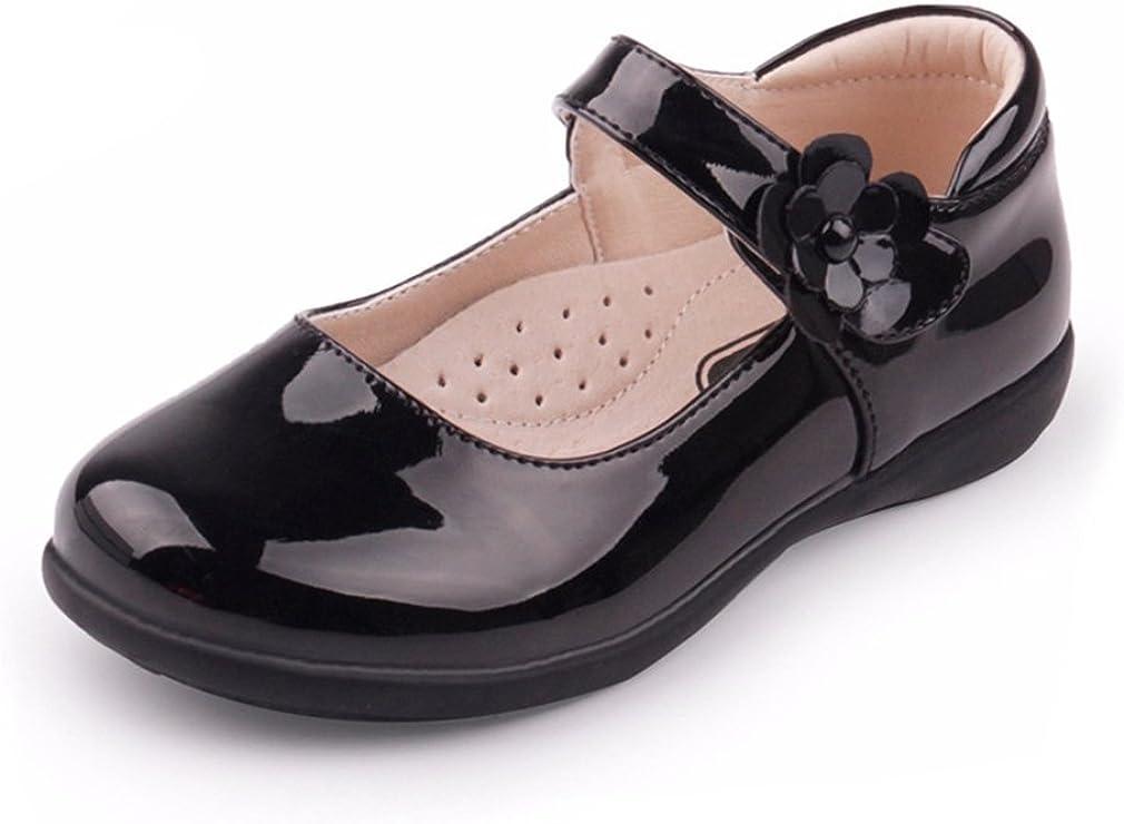 CYBLING Kids School Uniform Oxford Shoes Girls Mary Jane Dress Shoes (Toddler/Little Kid/Big Kid)