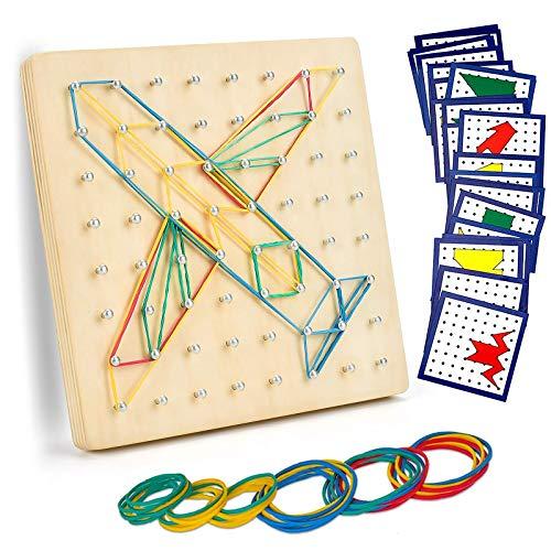 EKKONG Juguetes niños 3 4 5 años, Juguetes Madera Montessori educativos,Juguetes Madera,Aprendizaje Educación Juguete para Niños