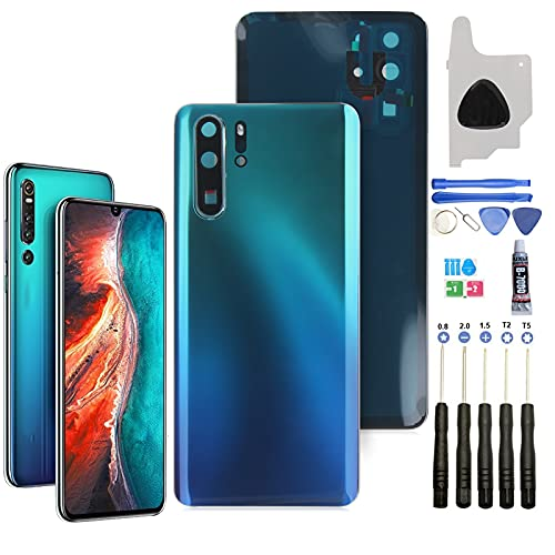 Tapa de Batería para Smartphone para Huawei P30 Pro Tapa de Batería, Tapa Trasera con Una Serie de Herramientas...