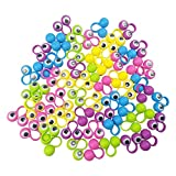 Eye Finger Puppets Googly Eye Finger Puppets Wiggly Eyeball Finger Puppet Rings Eye Finger Toy Kids Party Favor 5 Colors A Pack of 60