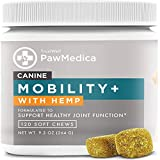Best Joint Supplements For Dogs - TRUSTWELL PAWMEDICA Glucosamine for Dogs, Joint Care Chews Review