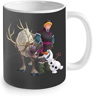 Disney Frozen Kristoff Olaf Sven Coffee Mug 11oz