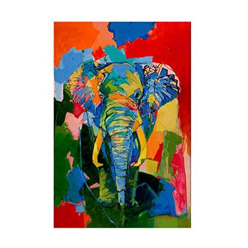 Trademark Fine Art Bull Elephant by Yuval Wolfson, 22x32, Multiple