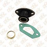 1set motosega parti scarico collettore di aspirazione con anello e guarnizione per 58CC 45cc 52cc/4500/5200/5800motosega cinese Parts