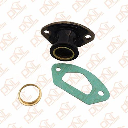 1 juego de piezas de motosierra de escape colector de admisión con anillo y junta para 45CC/4500 52CC/5200 58CC/5800 piezas de motosierra china