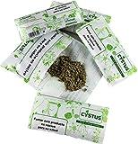 Pack x 5 Cigarrillos herbales mezcla de hierbas naturales sustituto alternativa del tabaco cigarrillos sin nicotina sin tabaco (Menta)