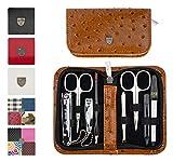 3 Swords Germany - Set para el cuidado de las uñas ´Salamanca` de viaje con estuche para manicura y pedicura - Calidad de marca by 3 Swords (7698)