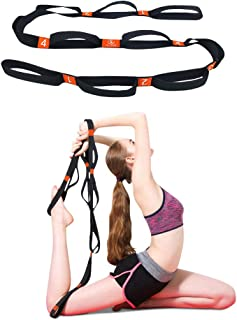 featured product 5BILLION Cotton Yoga Stretching Exercise Strap Band with Multiple Grip Loops for Hot Yoga,  Physical Therapy,  Greater Flexibility & Fitness Workout,  1.6 W x 6.7' L
