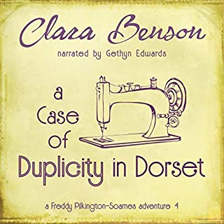 A Case of Duplicity in Dorset     A Freddy Pilkington-Soames Adventure, Volume 4              By:                                                                                                                                 Clara Benson                               Narrated by:                                                                                                                                 Gethyn Edwards                      Length: 7 hrs and 9 mins     Not rated yet     Overall 0.0