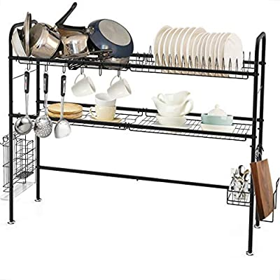 Dish Drainer Rack Over the Sink, Dish Drying fo...
