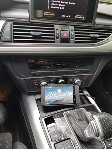 IYP - itsyourproduct Handy Halterung mit Kleingeld und Schlüsselfach - Zubehör für den Audi A5/A6/A7