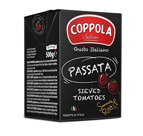 Coppola Passata, Salsa de tomate, Tetra pack 500g (Caja de