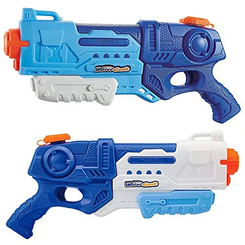Lantch Water Gun for Kids Toy, 2 Pack Super Soaker WaterBlaster 900CC Squirt Gun Beach Swimming Pool Water Fighting Toys
