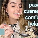 Preparando y comiendo HELADO VEGANO de vainilla Pt.3