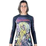 Tatami Fightwear Iron Maiden - Camiseta de Tirantes para Mujer, Mujer, Color Negro, tamaño Small