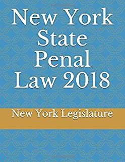 New York State Penal Law 2018