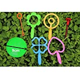 WOWOWO Kinder Wasser Blasen Spielzeug Outdoor Fun Sport Seife Blasen Bubble Horn