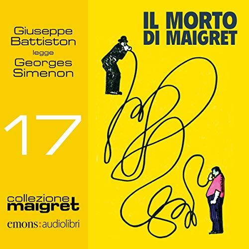 Il morto di Maigret audiobook cover art