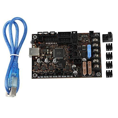 KTZAJO Suitable for Reprap Prusa I3 MK3/3S Einsy Rambo1.1B TMC2130 SPI 3D Printing Motherboard